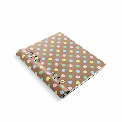 Filofax Clipbook Patterns A5 Pastel Spots Notebook Kunstleder Notizbuch 023626