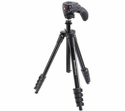 MANFROTTO MKCOMPACTACN-BK Compact Action Tripod - Black