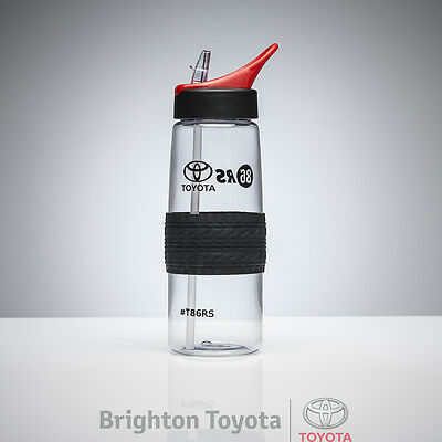New Official Toyota Merchandise 86 Racing Drink Bottle  Part TMT86RS005