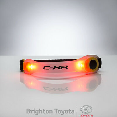 New Official Toyota Merchandise CHR Visibility Armband  Part TMCHR005