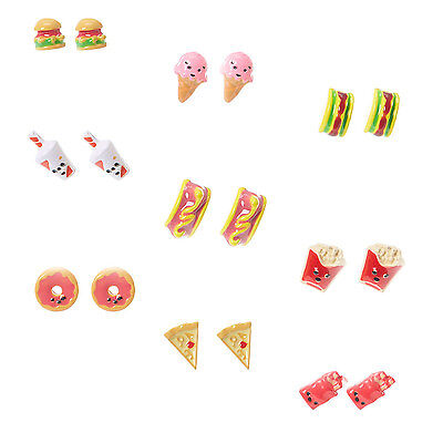 Claire's Accessories Girls Food Dessert Stud Earrings - Brand New With Tags