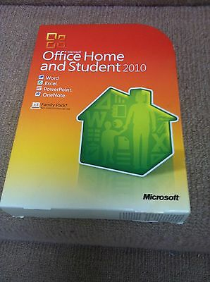 Genuine Microsoft Office 2010 – Home and Student. Full retail pack - disc & key