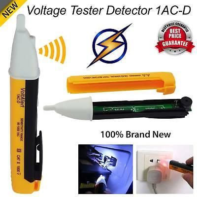 New Voltage Tester Pen Electric Power Volt Alert Detector 1AC-D Non Contact