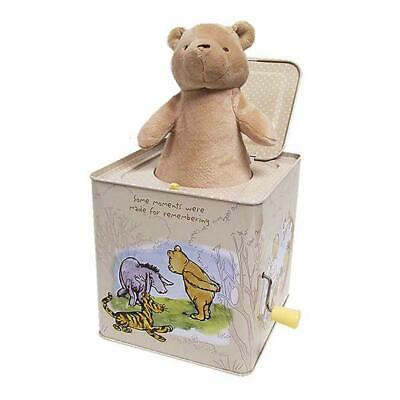 Jack In A Box Musical Toy Plush - Winnie The Pooh