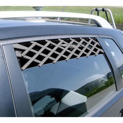 BoyzToys RY789 Easy Installation Pet Safe Car Window Vent Fits Most Cars - New