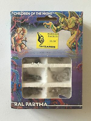 Games Workshop Citadel Miniatures Ral Partha Children Of The Night Wizards New