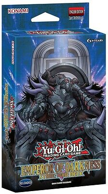 "Structure Deck ""EMPEROR OF DARKNESS"" deutsch YUGIOH"