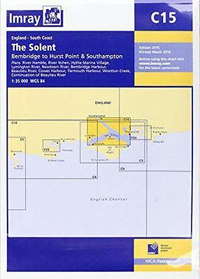Imray Chart: The Solent - Bembridge to Hurst Point and Southampton (C Series), I