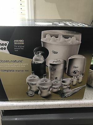Tommee Tippee Closer To Nature Complete Starter Kit BRAND NEW