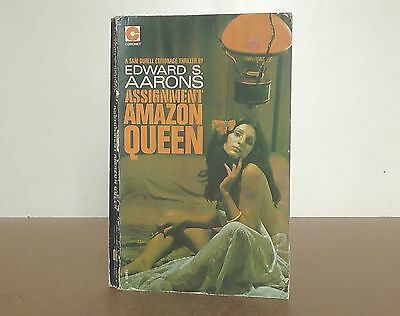"Vintage Coronet book ""Assignment Amazon Queen"" by Edward S. Aarons"