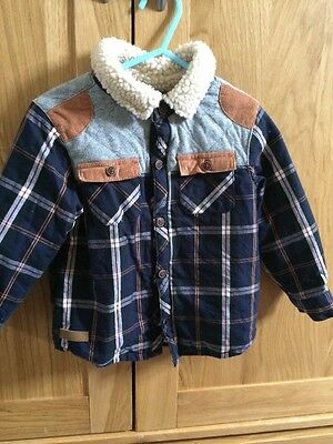 Boys Cardigan Jacket La Redoute - 24 Months Sheepskin Checked