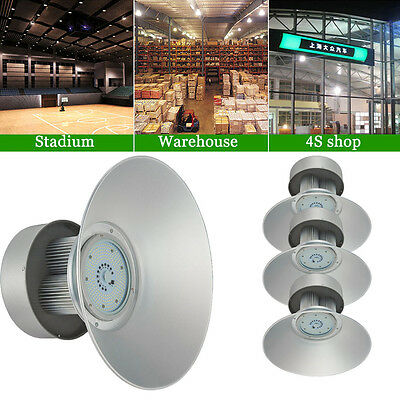 4X 150Watt LED High Bay Light White Lamp Lighting Shed Factory Industry Fixture