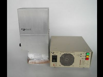 USED UV Curing System, Lamp and Power Supply with INDEPENDENT SERVICE REPORT