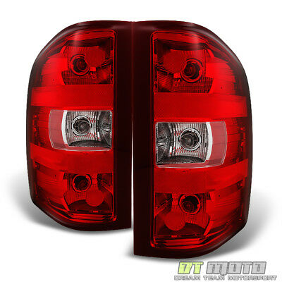 2007-2013 Chevy Silverado 1500 2500HD 3500HD Tail Lights 07-13 Replacement Lamps