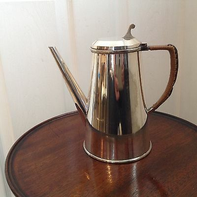 Dr Christopher Dresser Style Coffee Pot By Hukin & Heath