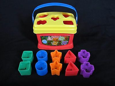Baby First Toy Toddler Educational Shape Game Infant Kid Blocks Learn & Sort