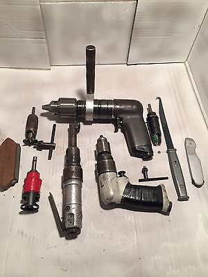 90 Degree Mini Rockwell Rockwell Palm Drill And Ingersoll Rand Slow Drill  Plus