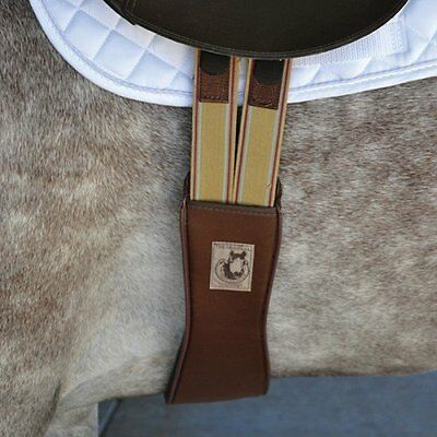 Cashel Soft Touch Shaped Jump Girth 56 Brown