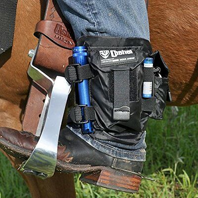Cashel Ankle Safe Cell Phone Holder Saddle Cantle Horn Bags Small Black
