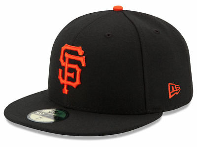 New Era San Francisco SF Giants GAME 59Fifty Fitted Hat (Black) MLB Cap