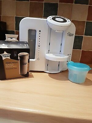 Tommee tippee perfect prep with Filter