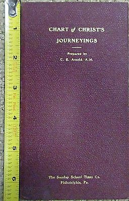 Arnold's Chart Of Christ's Journeyings  Arnold MAP 1898