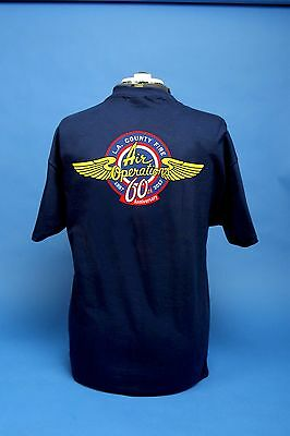 L.A. County Fire Department Air Operations 60th Anniversary T shirt.