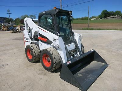 2011 Bobcat S 650 Skid Steer Loader, Cab, Heat/AC, ACS Controls, 74 HP Diesel