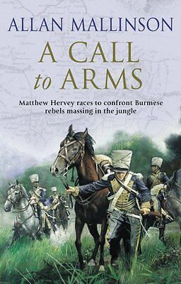 A Call To Arms (Matthew Hervey 04) by Allan Mallinson | Paperback Book | 9780553