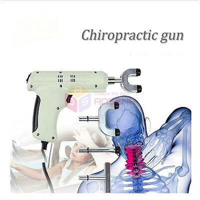 Electric Chiropractic Adjusting Tool Therapy Spine Activator Massager 110V-220V