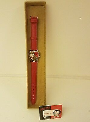 betty boop watch. brand new with warranty card