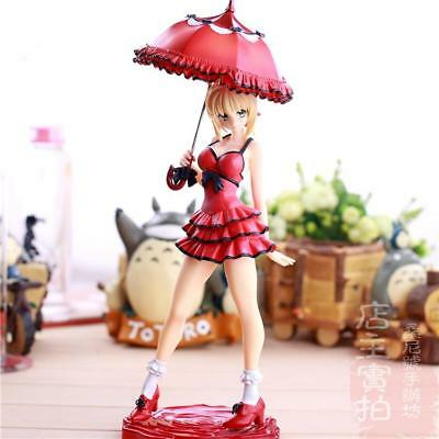 Fate Stay Night Fate/Extra CCC Saber One Piece Ver. PVC Figure Anime Toy 25cm