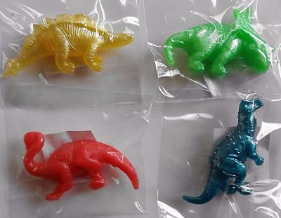 Bulk Lot x 20 Mixed Small Stretchy Dinosaurs Kids Party Favor Novelty Toys NEW