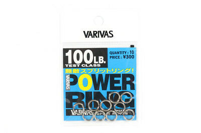 Varivas Power Split Rings Heavy Duty Strong 100 lb (4559)