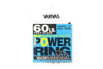 Varivas Power Split Rings Heavy Duty Strong 60 lb (4498)