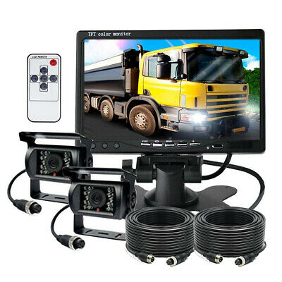 "7"" Digital Back Up Rear View Reversing Camera System For Truck Forklift Tractor"