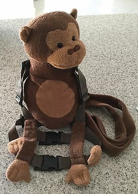 Toddler Safety Harness With Backpack In Great Condition