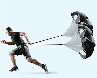 Speed Resistance Training Parachute Soccer Football Outdoor Sprint Training