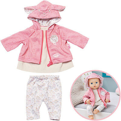 Zapf Creation Baby Annabell Tag Outfit (Rosa-Beige)