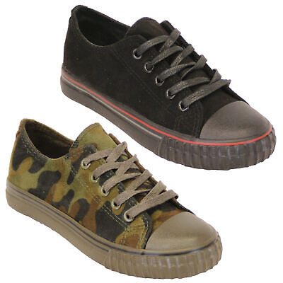 boys girls camouflage pumps kids military trainers lace up shoes casual summer