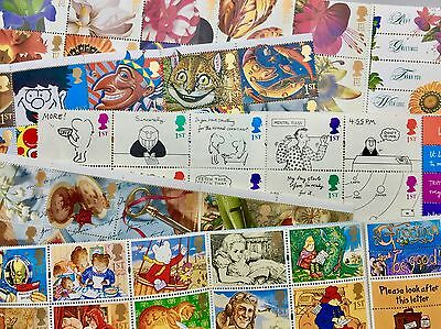 1st (First) Class Postage stamps x100. Free UK delivery.