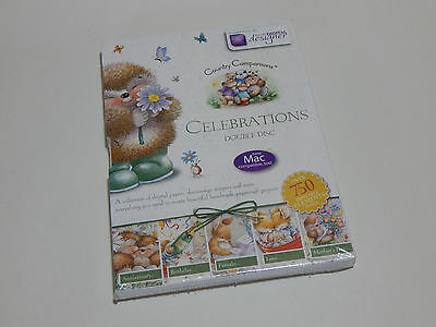 Docrafts digital Designer country companions celebrations double disc CD rom