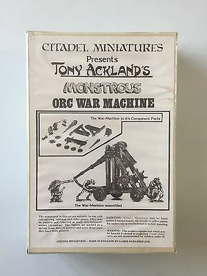 Citadel Miniatures Speciality Tony Acklands Monstrous Orc War Machine New Sealed