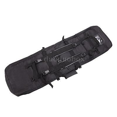 Military Hunting Tactical Shotgun Rifle Square Bag Gun Protection Case Z5Z2