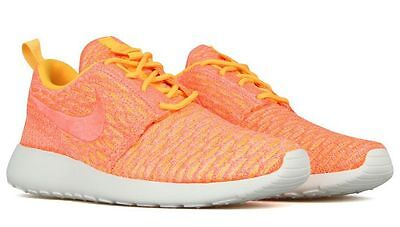 new product a56ed fd1c6 Nike Trainers Women s Roshe One Flyknit 704927 802 Fittness Gym Casual Shoes