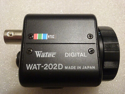 Watec Wat-202D Ntsc Digital Ccd Color Surveillance Camera (Body Only)