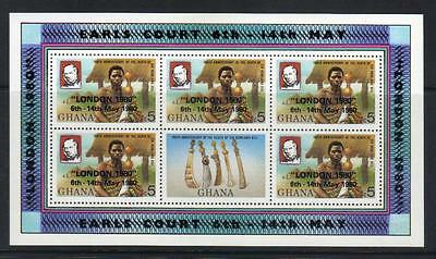 Ghana 1980 London Int Stamp Exh Sg910 U/m  S/s Cat £120