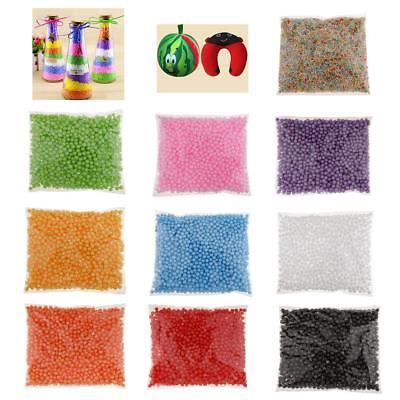 1 Pack 7-9mm Small Foam Balls Filler Beads for DIY Creative Craft Decoration