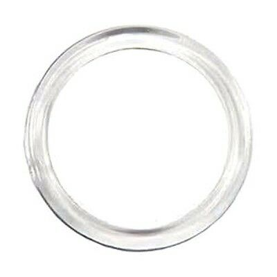 42Mm Large Round Clear Plastic Rings, Circle Rings, Bags/crafts Etc, Art Cl-42