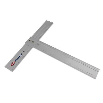 "12"" Precision Aluminum Alloy T Square Advertising Drafting Measuring Ruler"